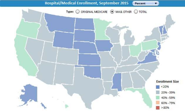Medicaid penetration rate